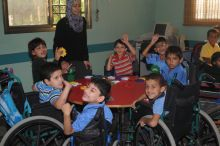 Gaza CBR Supporting Children with Disabilities